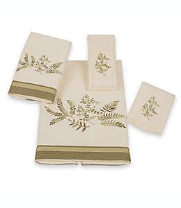 Toalla fingertip de algodón Avanti Greenwood® color marfil