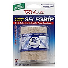 image of Harmon® Face Values™ 3-Inch Selfgrip Athletic Tape Bandage in Beige