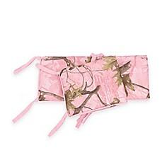 hiend accents pink camo 4 piece crib bumper set - Pink Camo Bedding