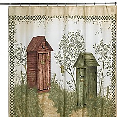 image of Avanti Outhouses Shower Curtain