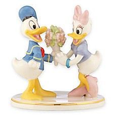 image of Lenox® Disney Donald & Daisy Together Forever Figurine