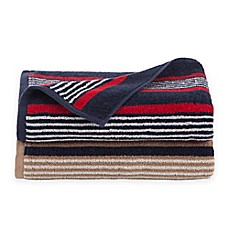 image of Izod Striped Bath Towel Collection