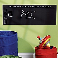 image of Wallies Peel-and-Stick ABC's Chalkboard