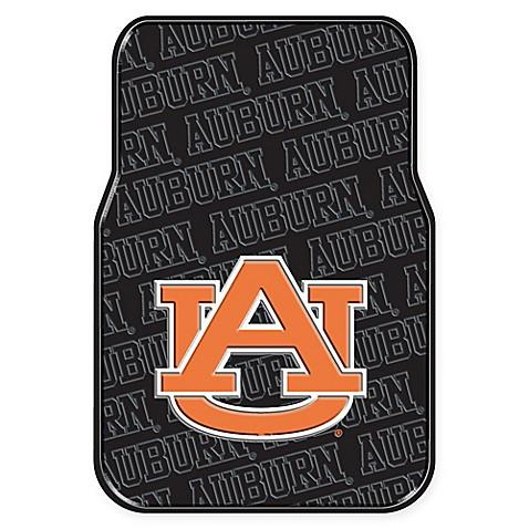 Buy Auburn University Rubber Car Floor Mats Set Of 2