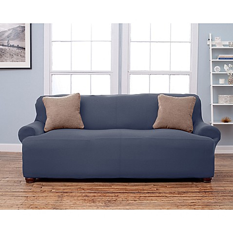 Buy lucia love corduroy sofa slipcover in grey from bed for Grey corduroy sofa