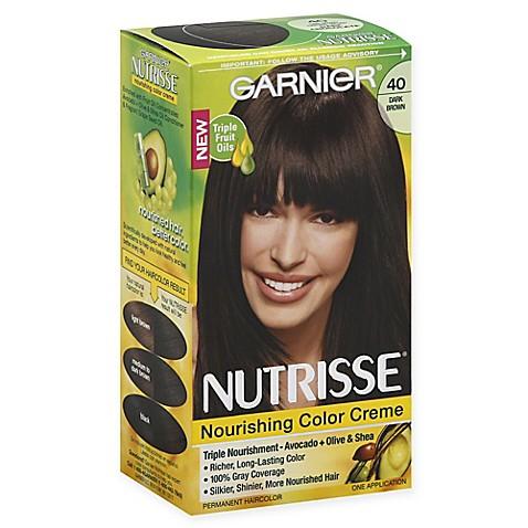 Buy Garnier® Nutrisse® Nourishing Color Crème in 40 Dark ... - photo #10