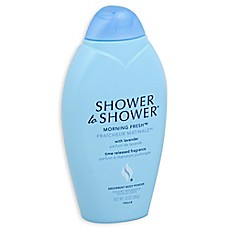 image of Shower to Shower 13 oz. Morning Fresh Absorbent Body Powder
