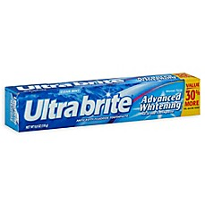 image of Ultra Brite 6 oz. Advanced Whitening Toothpaste in Original