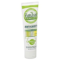 image of The Natural Dentist® 5 oz. Anticavity Fluoride Toothpaste in Peppermint Twist