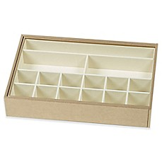 image of Ampersand® Expandable Jewel Tray in Gold