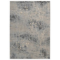 image of Nourison Somerset ST74 Rug in Silver and Blue