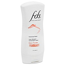 image of FDS® 13 oz. Feminine Wash in Baby Powder Scent