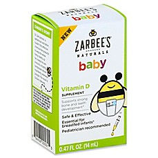image of Zarbee's® Naturals Baby .47 oz. Vitamin D Supplement