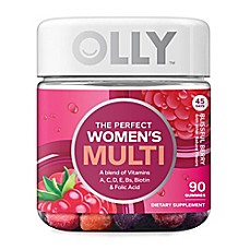 image of OLLY™ 90-Count Women's Multi in Blissful Berry Gummies
