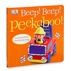 image of Beep! Beep! Peekaboo! Touch-and-Feel Lift-the Flap Board Book