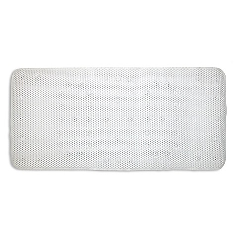 ginsey large cushioned bath mat bed bath amp beyond jt bed amp bath non slip bathtub shower mat with suction