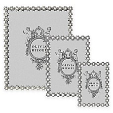 Image Of Olivia Riegel Swarovski® Crystal And Faux Pearl Accented Diana  Picture Frame