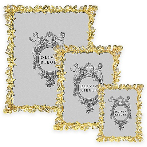 Olivia Riegel Cornelia Picture Frame in Gold - Bed Bath & Beyond