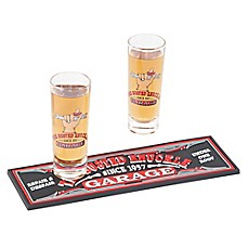 image of Busted Knuckle Garage 3-Piece Shot Glass Gift Set
