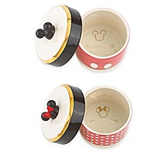 image of Lenox® Disney Mickey and Minnie Mouse Trinket Boxes