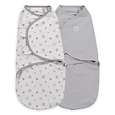 image of Summer Infant® SwaddleMe® Newborn 2-Pack Starry Skies Swaddle Pod