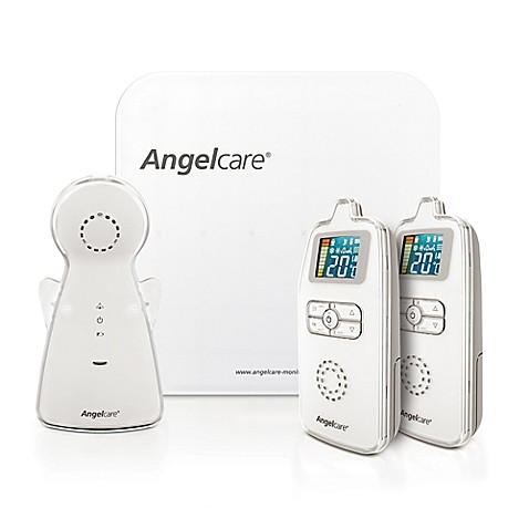 angelcare movement sound monitor with 2 parent units buybuy baby. Black Bedroom Furniture Sets. Home Design Ideas