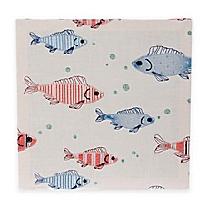 image of Glenna Jean Fish Tales Embroidery Wall Art