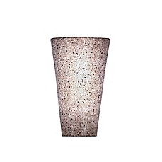 image of vivid high gloss wall sconce in granite bathroom vanity lighting 7