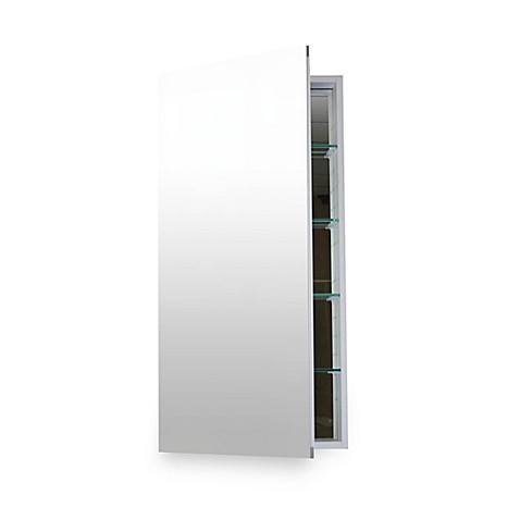 Buy Flawless 20 Inch X 30 Inch Bluetooth Medicine Cabinet In Silver From Bed Bath Beyond