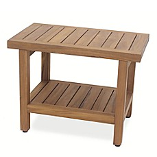 beyond product shower trade bench store bed bath haven teak
