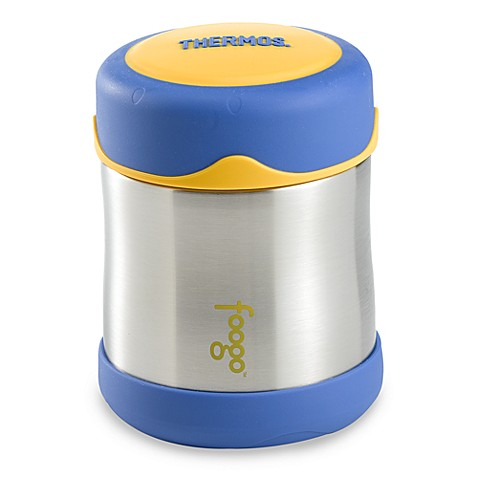 buy thermos foogo 10 ounce leak proof food jar in blue from bed bath beyond. Black Bedroom Furniture Sets. Home Design Ideas
