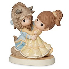 image of Precious Moments® Disney® Boy as Beast with Belle Figurine