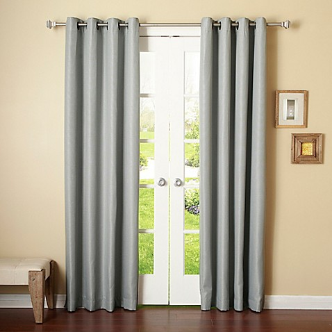 Buy Decorinnovation Basketweave 96 Inch Room Darkening Grommet Top Window Curtain Panel Pair In