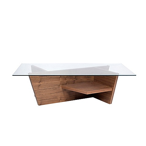 Buy tema oliva coffee table in wenge from bed bath beyond Wenge coffee tables