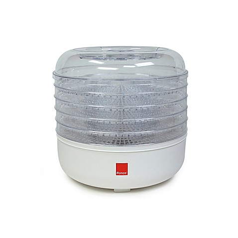 ronco® five-tray electric food dehydrator - bed bath & beyond