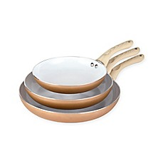 image of Art and Cook 3-Piece Non-Stick Frying Pan Set