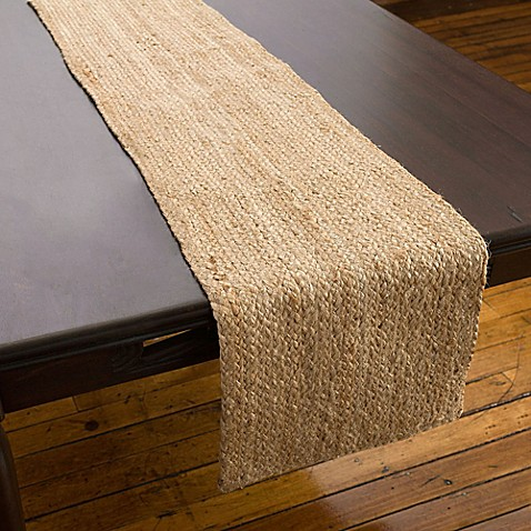 Willow Table Runner In Natural Bed Bath Amp Beyond
