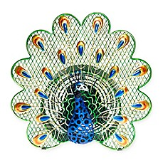 image of Deco Breeze® 13-Inch Peacock Table Fan