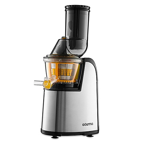 Slow Juicer Bed Bath And Beyond : Gourmia Masticating Slow Juicer with Wide-Mouth - Bed ...
