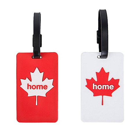Latitude 40°N™ Canada State Love Luggage Tags (Set of 2)