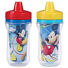 image of Mickey Mouse 9-Ounce Insulated Cup (2 Pack)