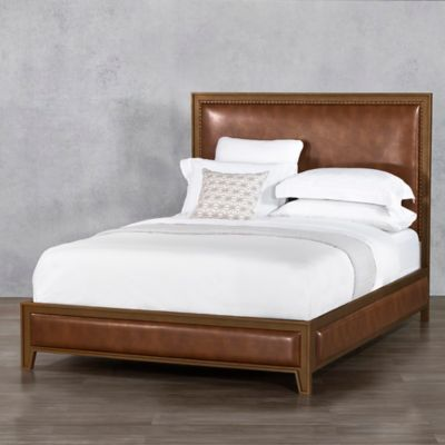 Wesley Allen Avery Iron Surround Bed Frame in Copper Bed Bath