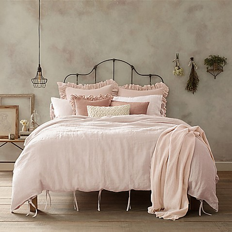 Buy Wamsutta 174 Vintage Linen King Duvet Cover In Blush From