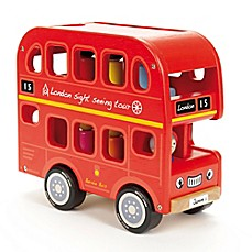 image of Indigo Jamm Bernie's Number Bus and Peg People in Red