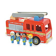image of Indigo Jamm Freddie Fire Engine and Peg People in Red