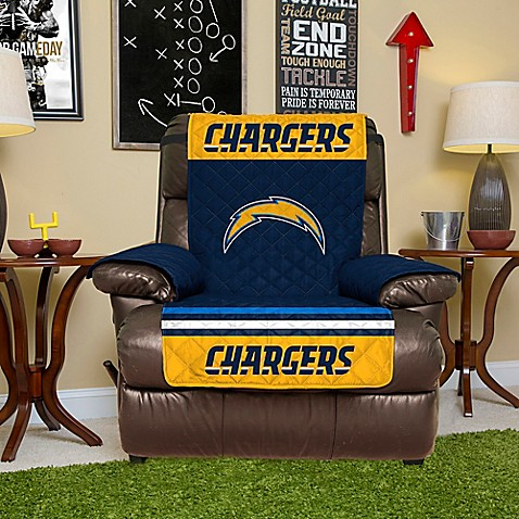 Buy NFL San Diego Chargers Recliner Cover From Bed Bath