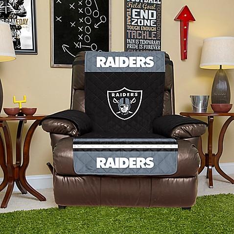 NFL Oakland Raiders Recliner Cover & NFL Oakland Raiders Recliner Cover - Bed Bath u0026 Beyond islam-shia.org