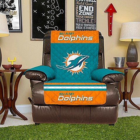 Image Of Nfl Miami Dolphins Recliner Cover