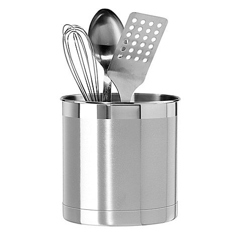 Oggi™ Stainless Steel Jumbo Utensil Holder