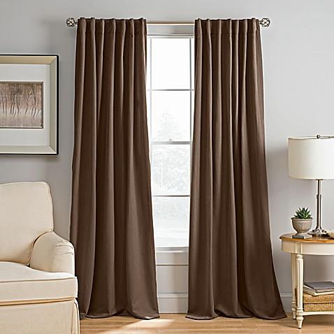 Abbeville Rod Pocket Back Tab Window Curtain Panel